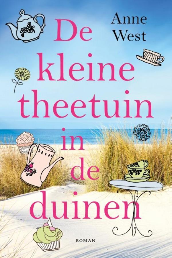 De kleine theetuin in de duinen