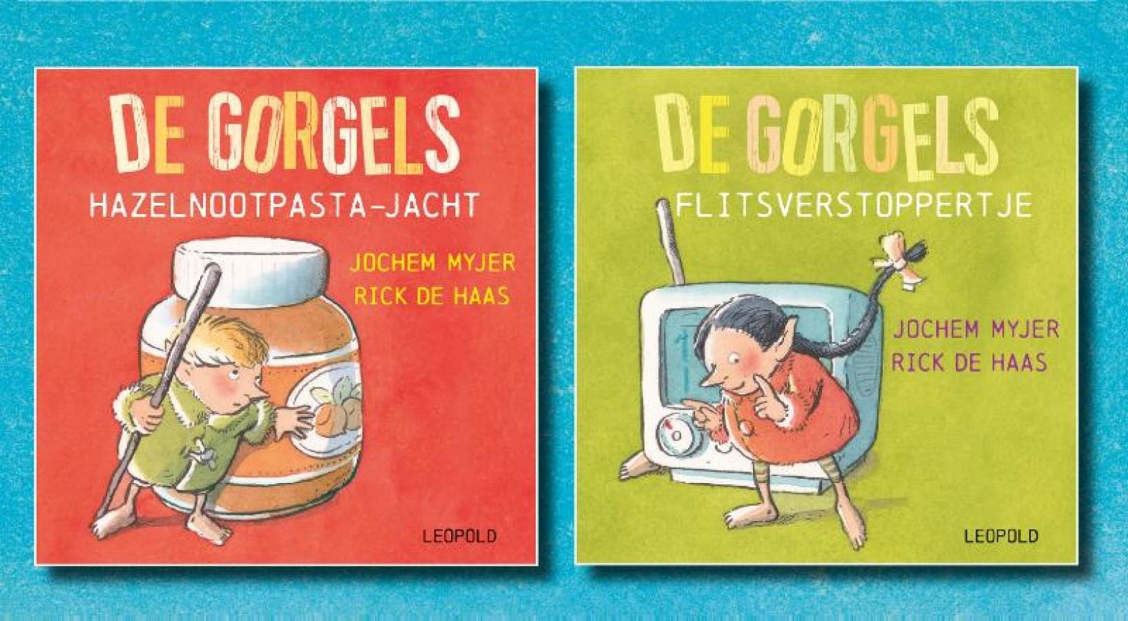 De Gorgels - uitdeelboekjes