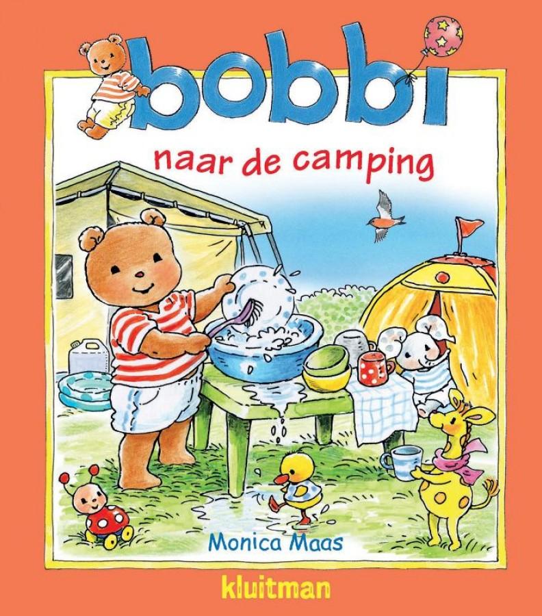 Bobbi naar de camping