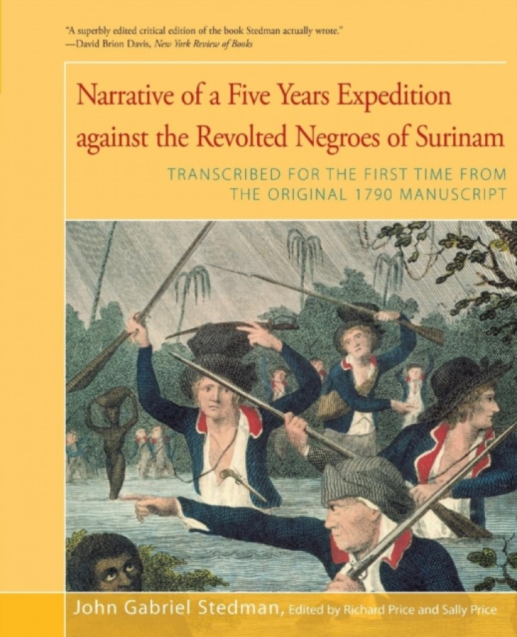 Narrative of five years expedition against the revolted negroes of surinam