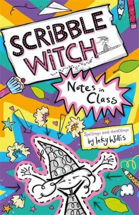 Scribble witch: notes in class
