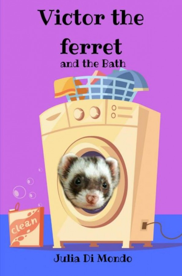 Victor the ferret and the Bath