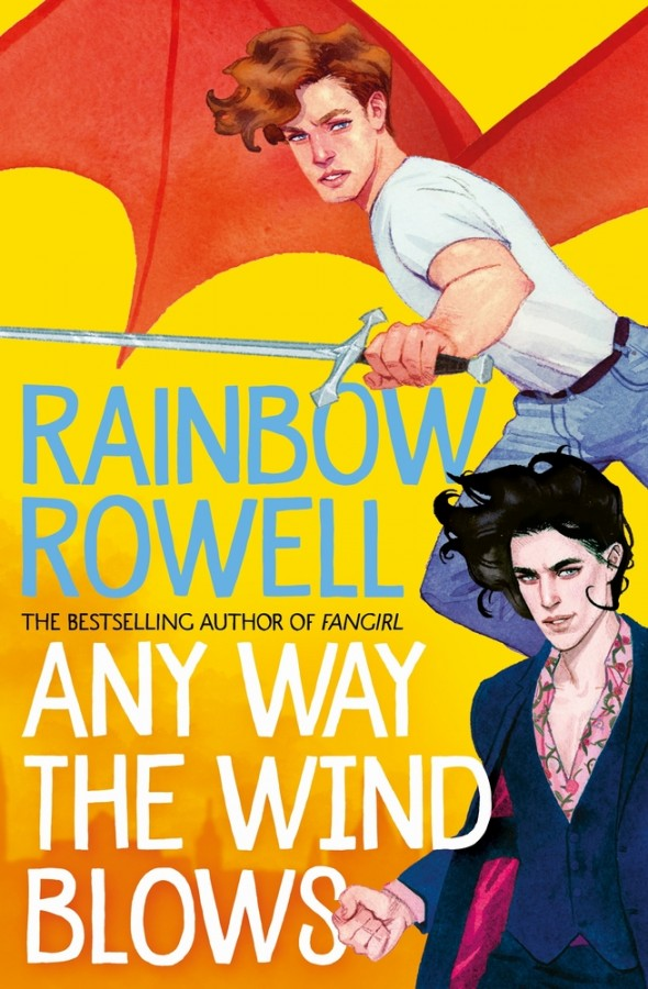 Simon snow (03): any way the wind blows