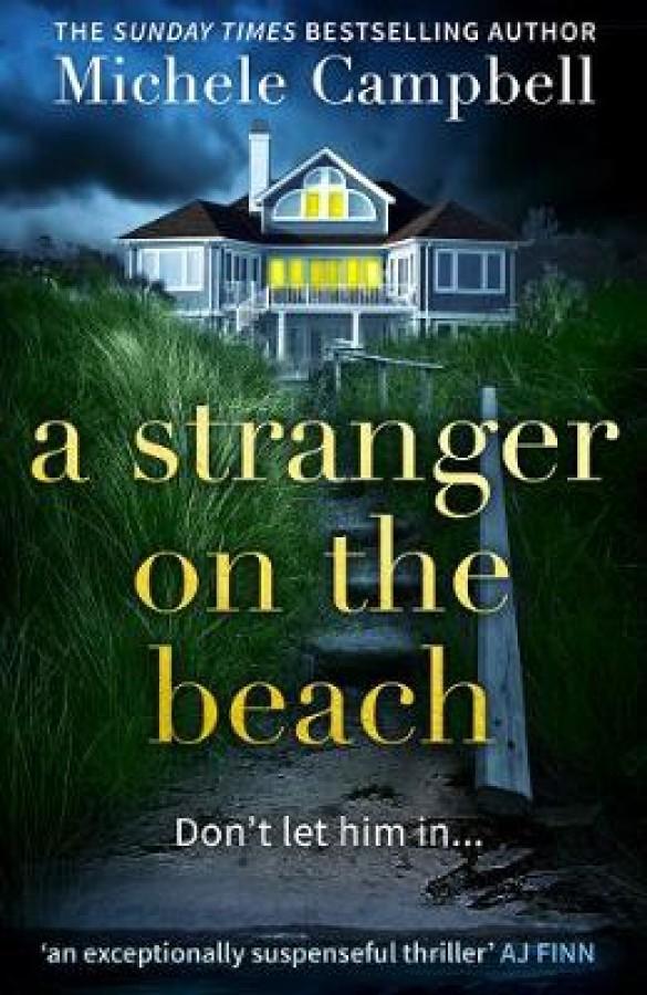 Stranger on the beach