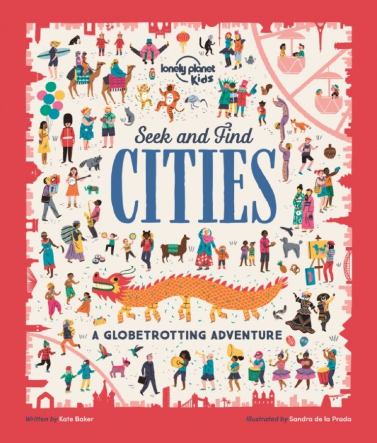 Lonely planet kids: seek and find cities