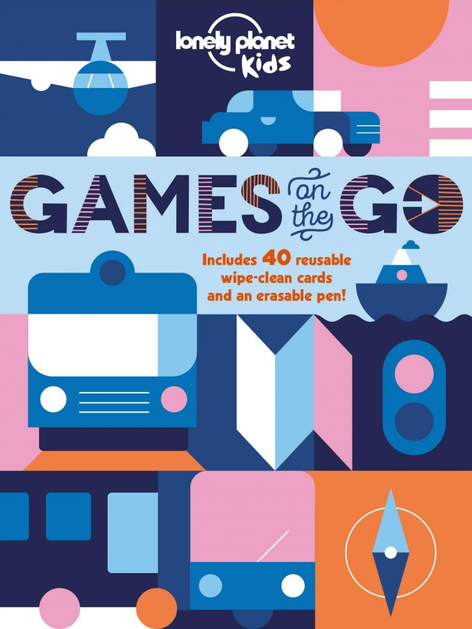 Lonely planet kids: games on the go