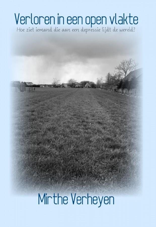Verloren in een open vlakte