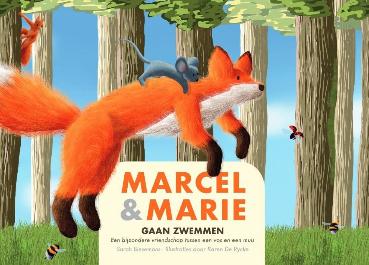 Marcel en Marie gaan zwemmen