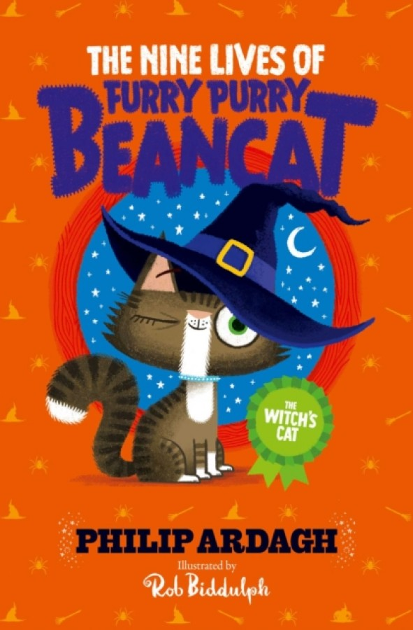 The nine lives of furry, purry beancat (03): witch's cat