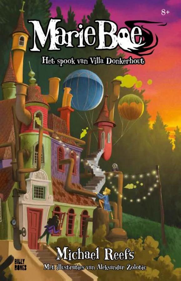 Marie Boe - Het spook van villa Donkerhout