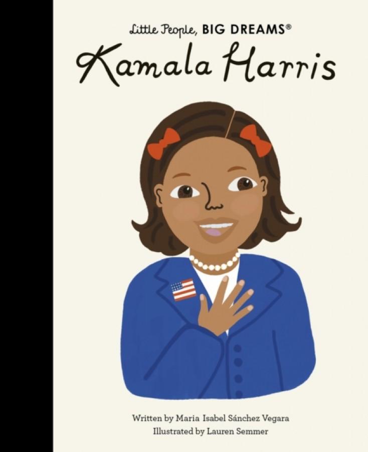 Little people, big dreams: kamala harris