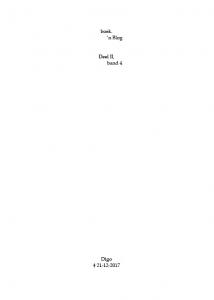 boek.-'n Blog, deel II, band 4