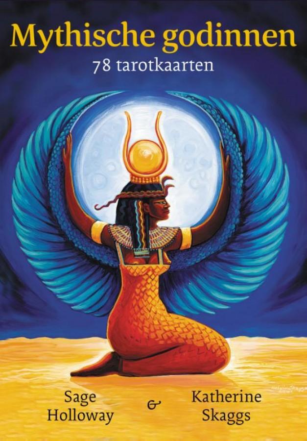 Mythische godinnen - 78 tarotkaarten