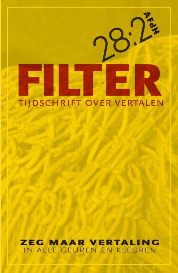 Filter –Tijdschrift over vertalen