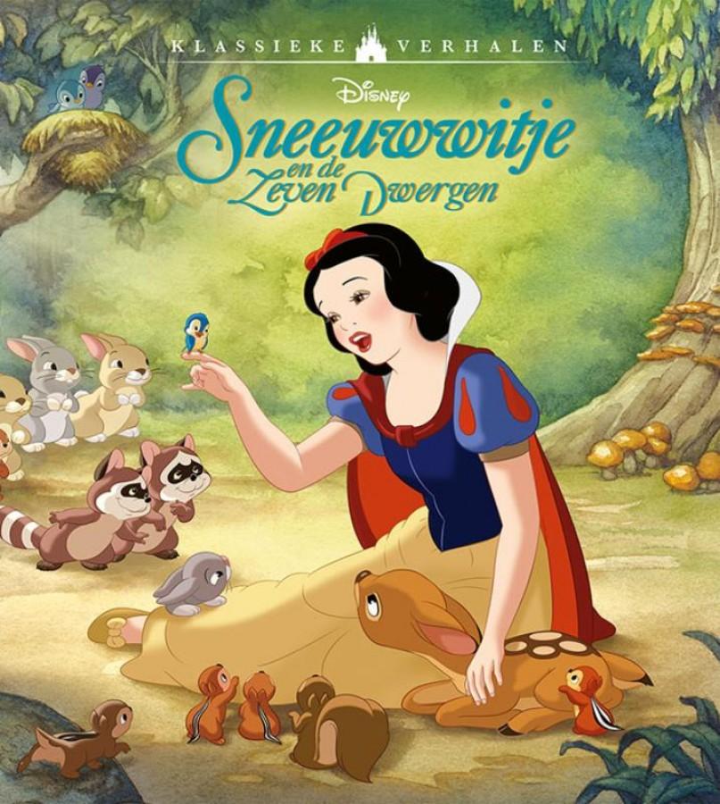 Disney klassieke verhalen Sneeuwwitje en de zeven dwergen