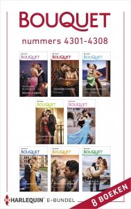 Bouquet e-bundel nummers 4301 - 4308