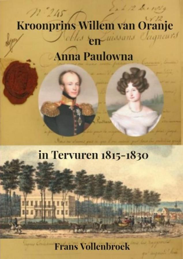 Kroonprins Willem van Oranje en Anna Paulowna in Tervuren