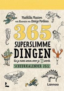 365 Superslimme dingen die je moet weten voor je 13 wordt - kalender 2022