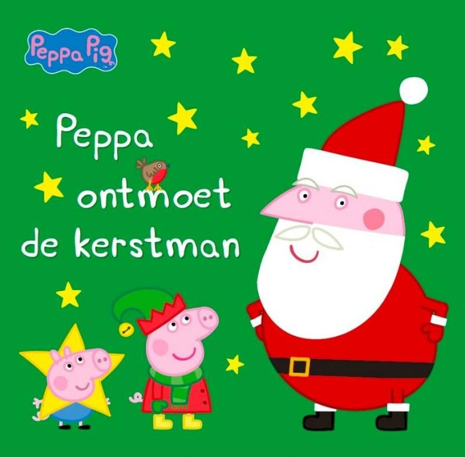 Peppa ontmoet de kerstman